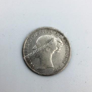 3 Pence 1877 Ηνωμένο Βασίλειο