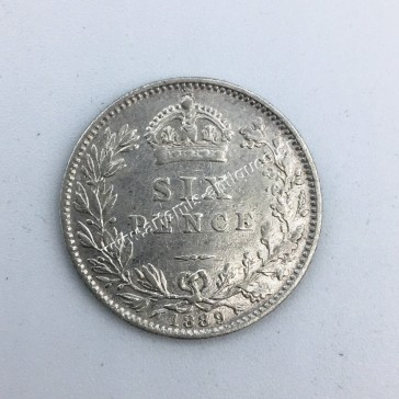 6 Pence 1889 United Kingdom