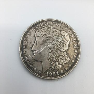 1 Dollar 1921 D Morgan Dollar