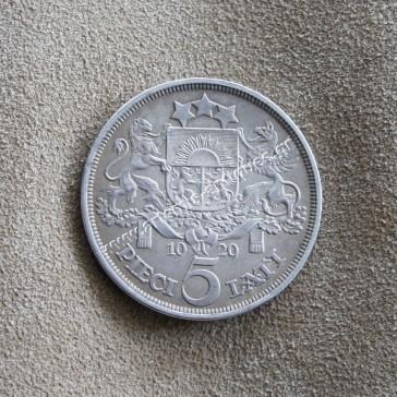 5 Lati 1929 Latvia
