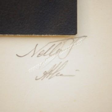 Παλιό Γυναικείο Πορτραίτο από Nelly's