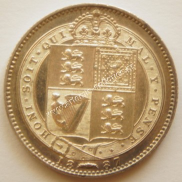 One Shilling 1887