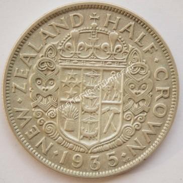 Μισή Κορώνα 1935 Νέα Ζηλανδία
