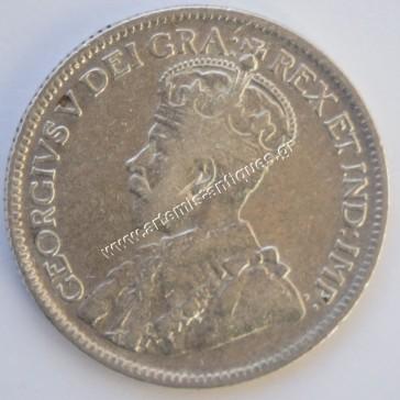 9 Piastre 1921 Cyprus