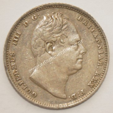 6 Pence 1834 United Kingdom