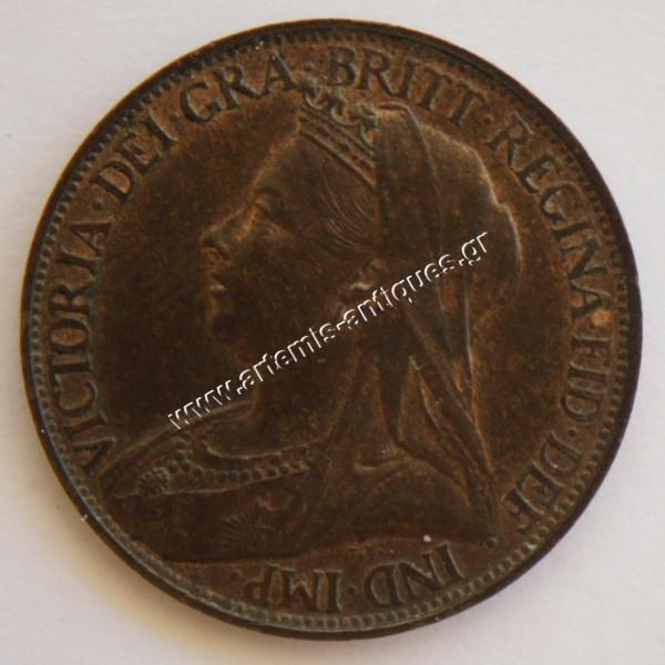 1 Farthing 1896 Ηνωμένο Βασίλειο