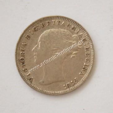 3 Πένες 1878 Μεγάλη Βρετανία