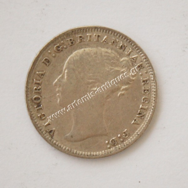 3 Pence 1878 Great Britain