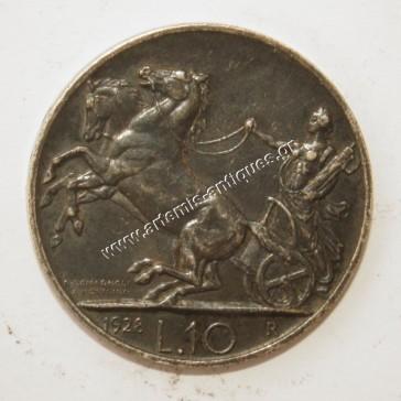 10 Lire 1928 Italy