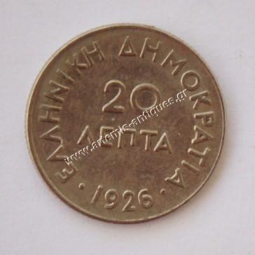 20 Lepta 1926
