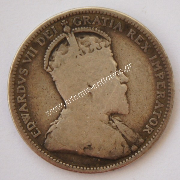 25 Cents 1908 Canada