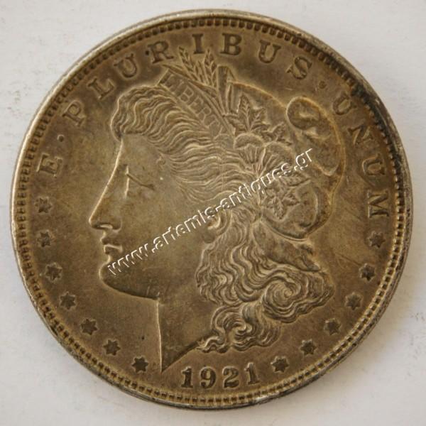 1 Δολάριο 1921 Μόργκαν
