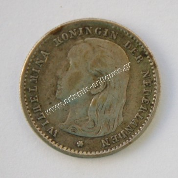 10 Cents 1893 Netherlands