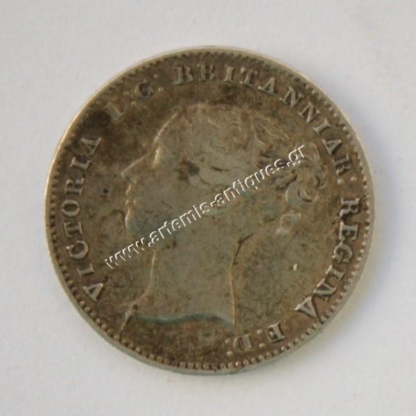 3 Pence 1859 Great Britain