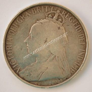 18 Piastres 1901 Cyprus