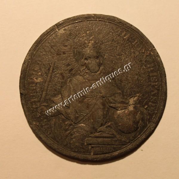 S FERDINANDUS III REX HISPAN - NON CORONABITUR NISI LEGITIME CERTAVERIT - 1760