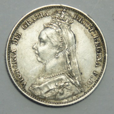 6 Pence 1890 United Kingdom