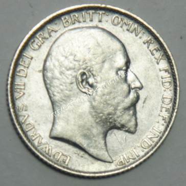 6 Pence 1907 United Kingdom