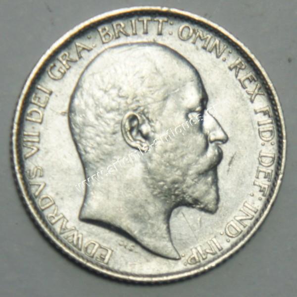 6 Pence 1907 United Kingdom