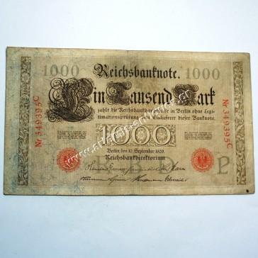 1000 Μάρκα 1909 Γερμανία