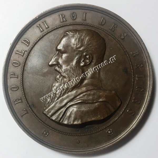 Leopold II King of Belgium 1888