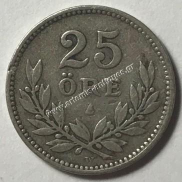 25 Ore 1912 Sweden