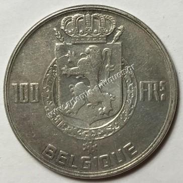 100 Francs 1950 Kings Belgium