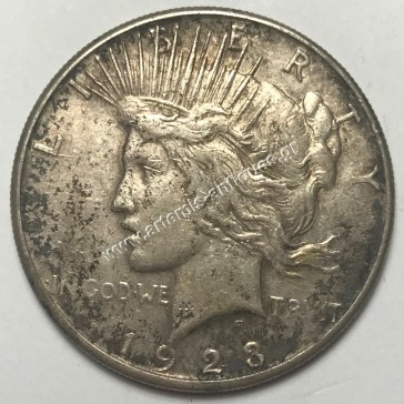 "1 Dollar 1923 S "" Peace Dollar """