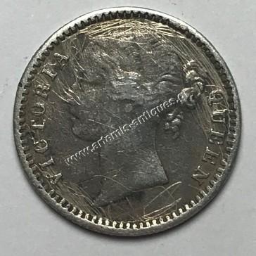 1/4 Rupee 1840 India-Britain