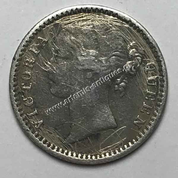1/4 Rupee 1840 Ινδία-Βρετανία
