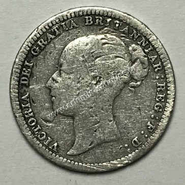 6 Pence 1880 United Kingdom