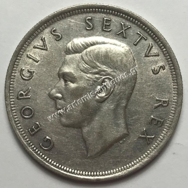 5 Shillings 1652-1952 South Africa