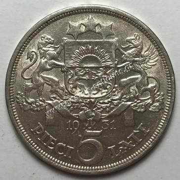 5 Lati 1931 Λετονία
