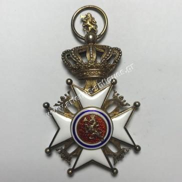 Ιππότης Βασιλικού Τάγματος Αγ.Όλαφ 2ος Τύπος Νορβηγία