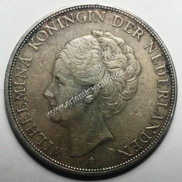 2 1/2 Gulden 1929 Ολλανδία