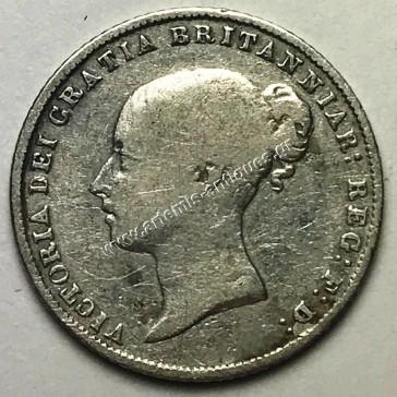 6 Pence 1864 die 28 Ηνωμένο Βασίλειο