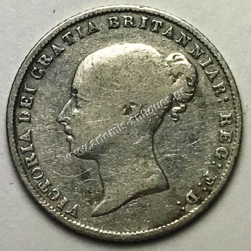 6 Pence 1864 die 28 United Kingdom