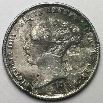6 Pence 1855 Ηνωμένο Βασίλειο