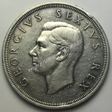 5 Shillings 1950 S.Africa