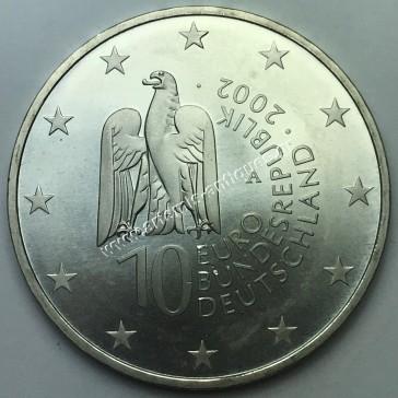 10 Ευρώ  2002 Γερμανία