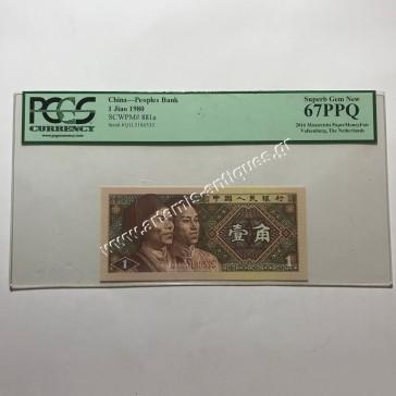 1 Jiao 1980 Κίνα
