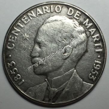 1 Peso 1953 Jose Marti Cuba