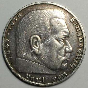 5 Μάρκα 1936 D Γερμανία