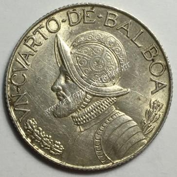 1 /4 Balboa 1962 Παναμάς