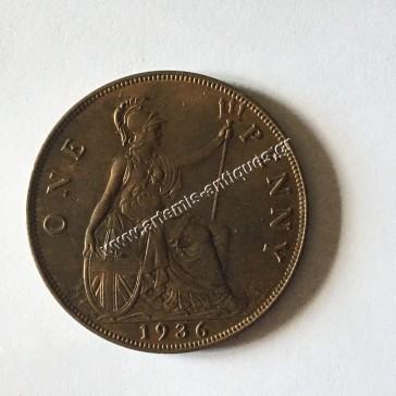 One Penny 1936 Μεγάλη Βρετανία