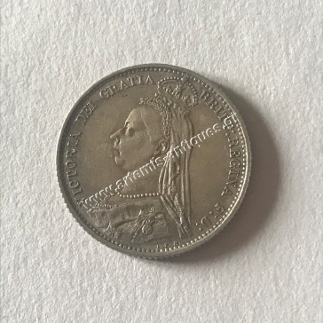 6 Pence 1887 United Kingdom