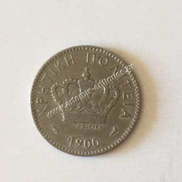 10 Lepta 1900 Cretan State
