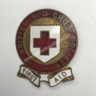 Βρετανικός Ερυθρός Σταυρός Πρώτες Βοήθειες Σήμα