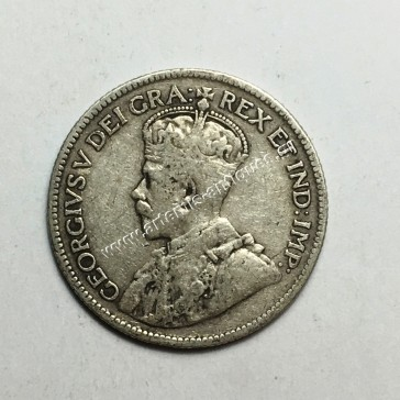 9 Piastres 1921 Cyprus